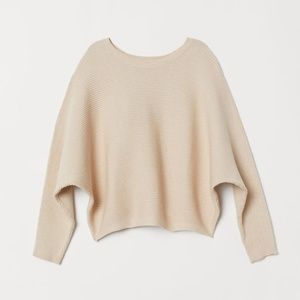 H&M Rib Knit Sweater! (IN BLACK)